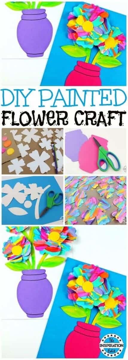 Painted Flower Craft