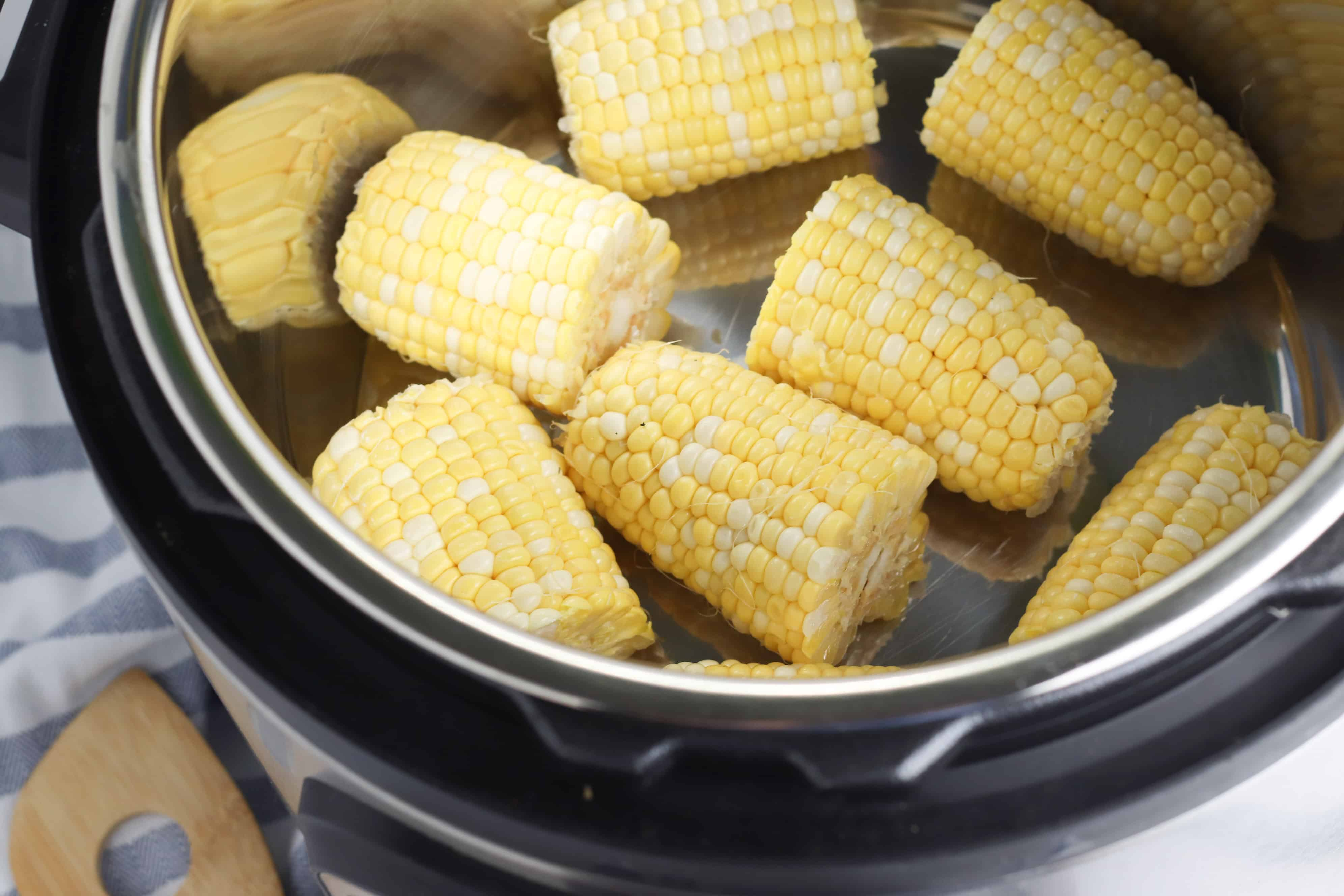 whole kernel corn in an instant pot