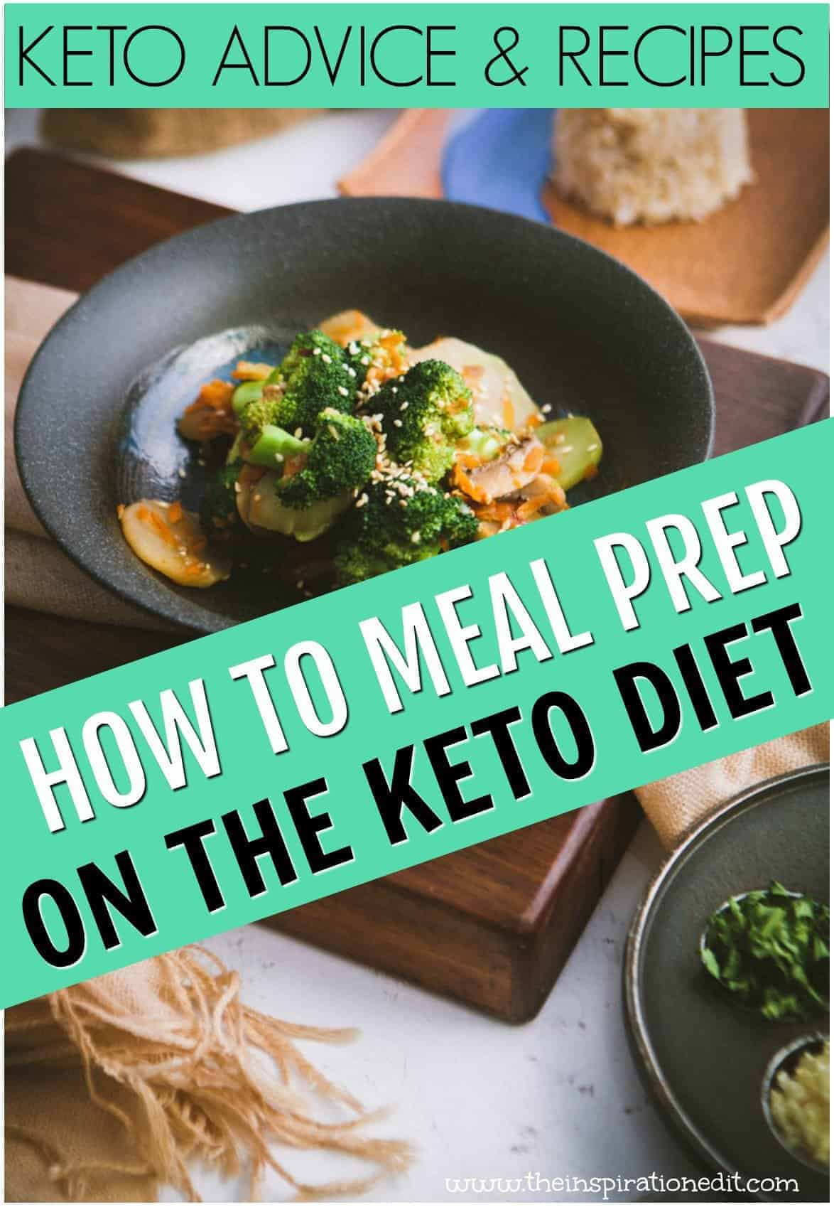KETO MEAL PLANNING ADVICE AND RECIPES