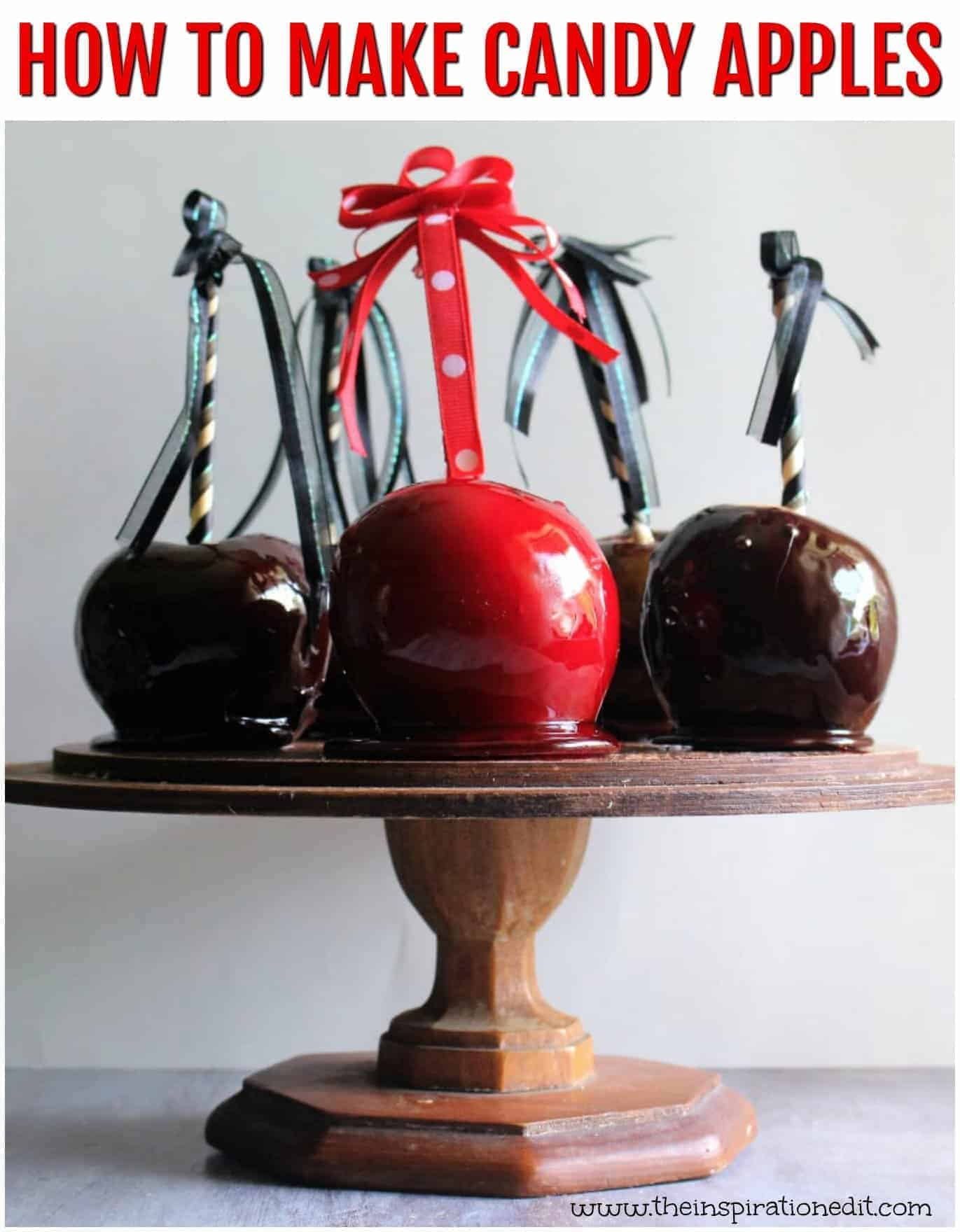 Candy Apples Recipe You Will Love · The Inspiration Edit
