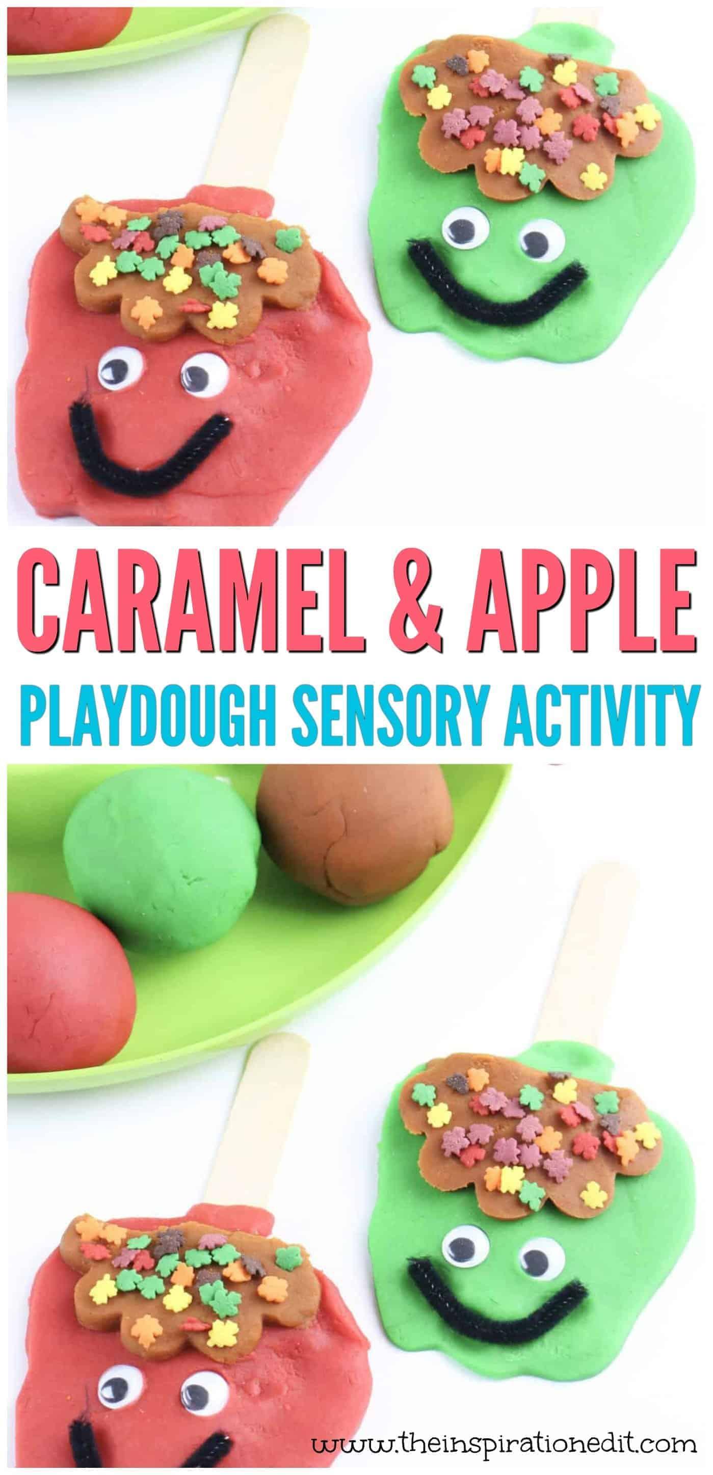 sensory playdough activity
