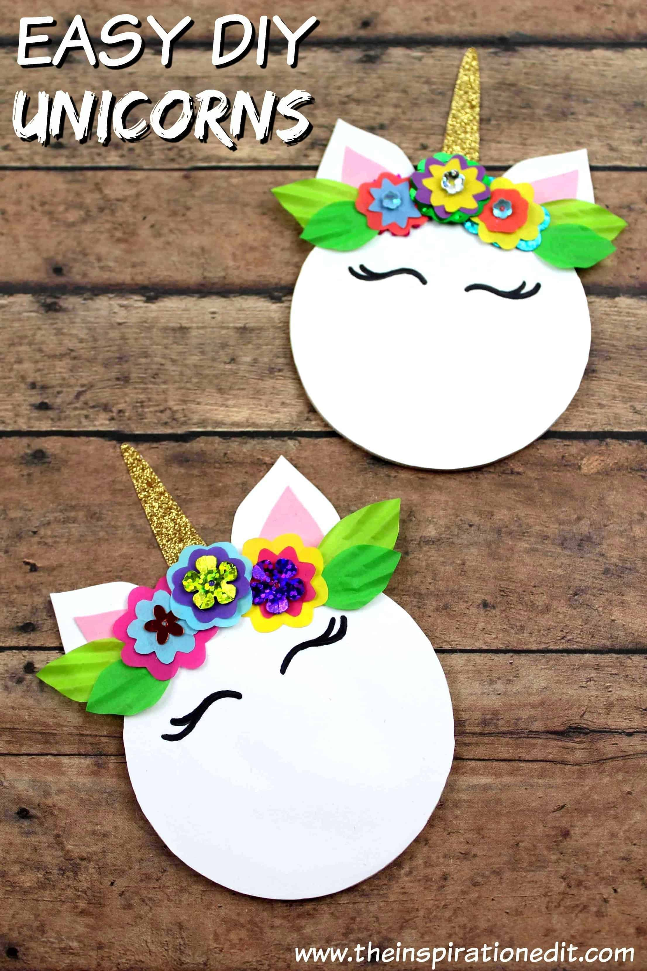 DIY Unicorn Magnet For Kids