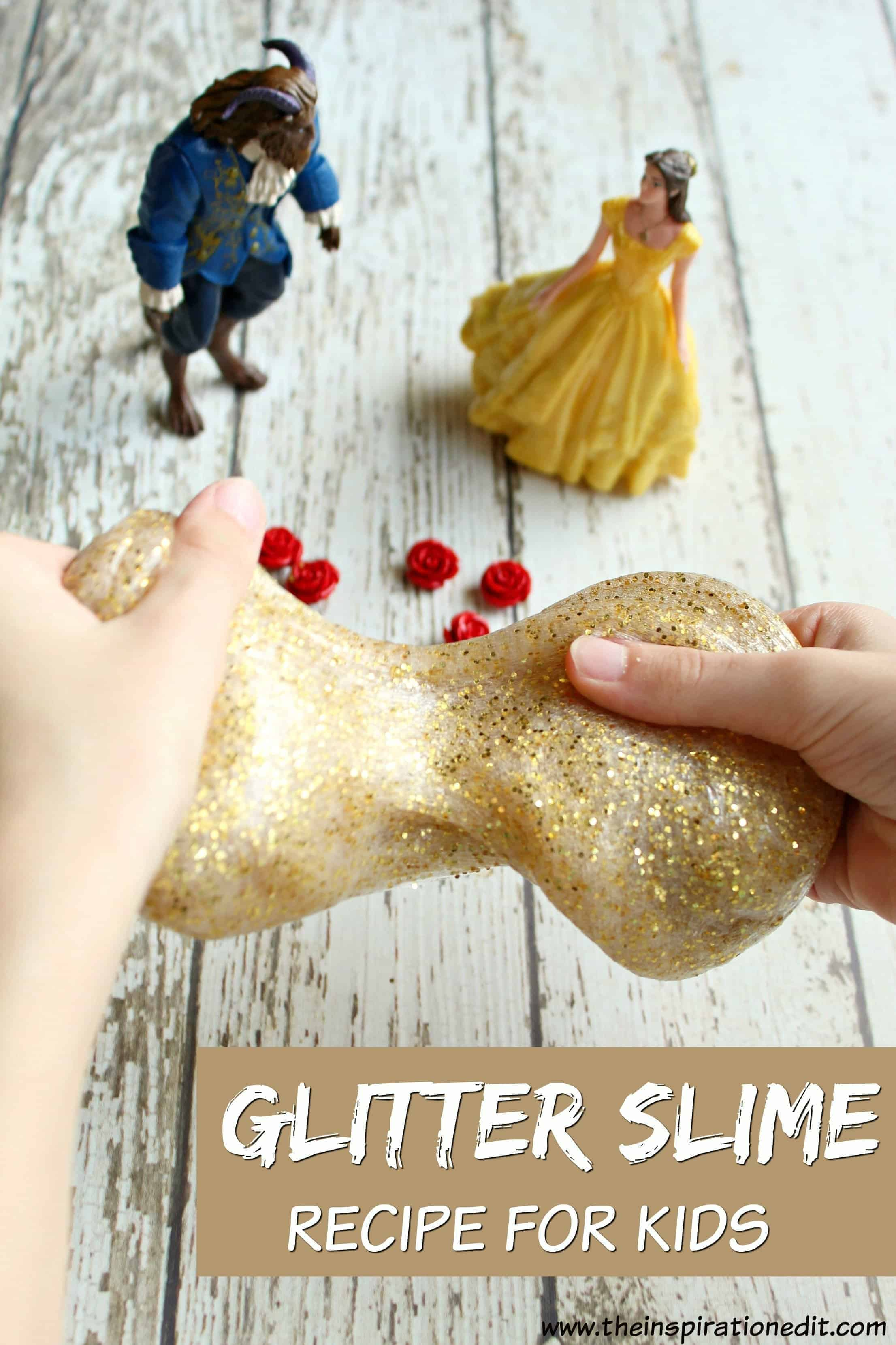 glitter slime pin