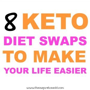keto diet plan swaps