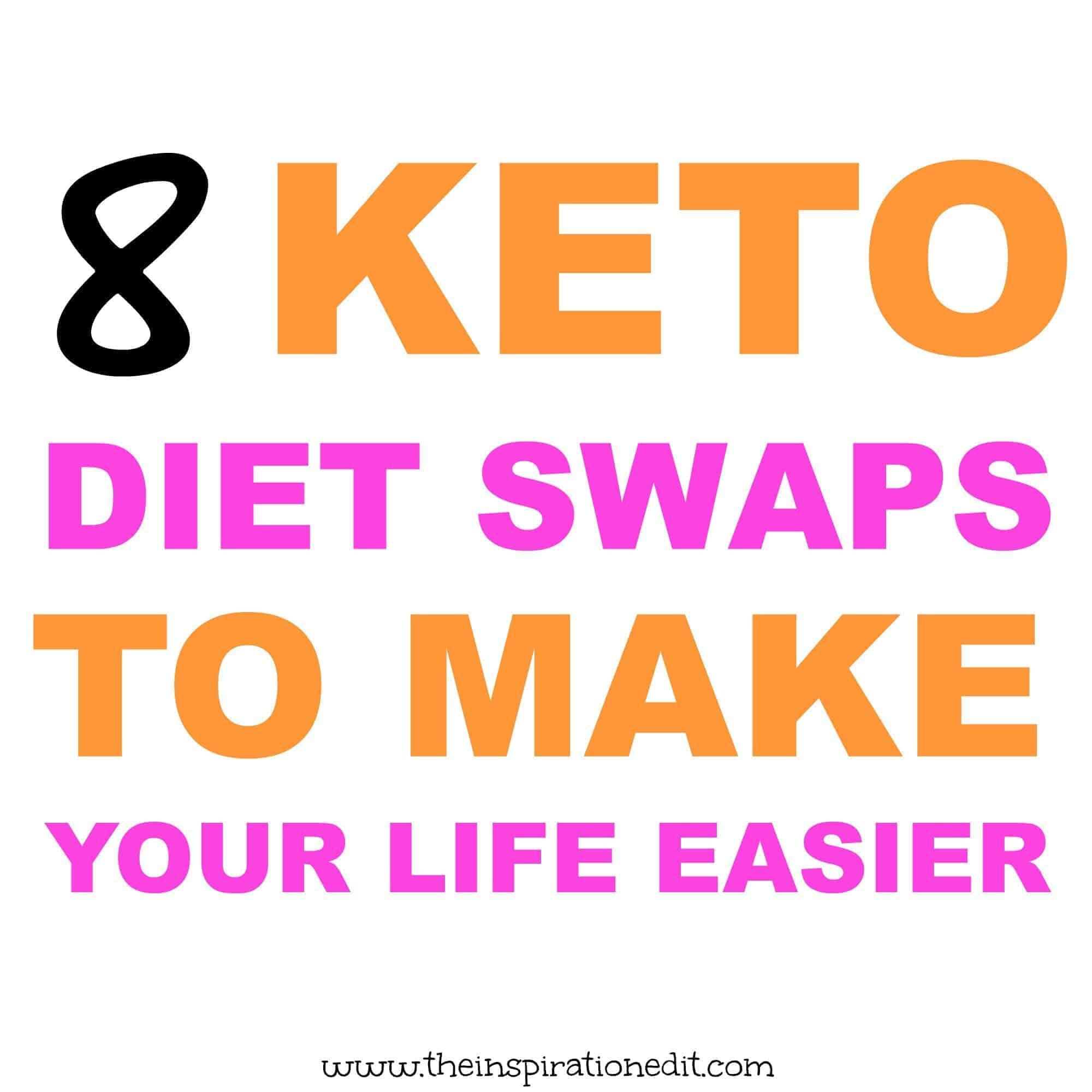 keto diet plan swaps