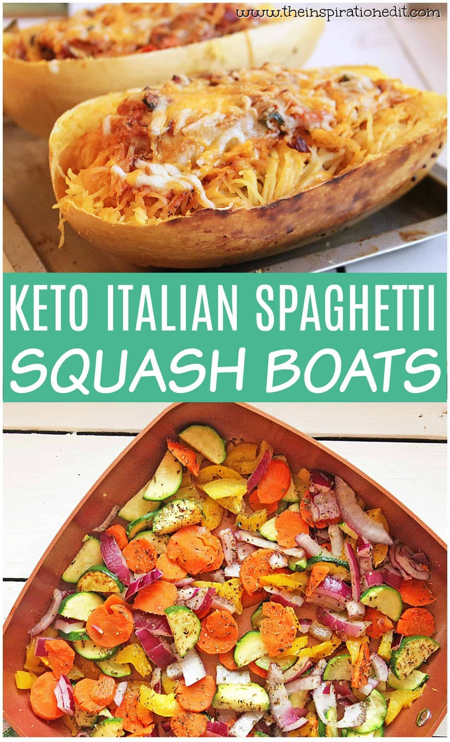 keto italian spaghetti squash boats(1)