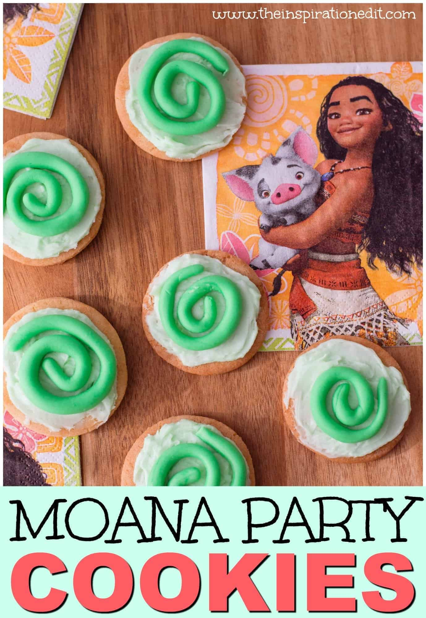 moana cookies