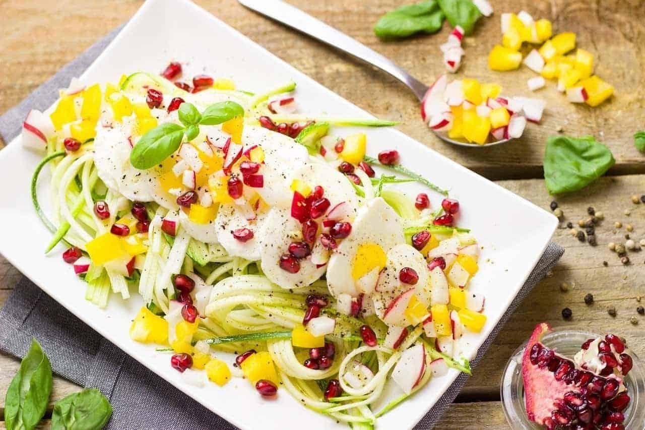 keto diet plan salad