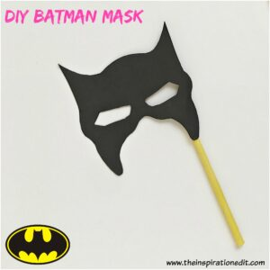 diy batman mask for kids