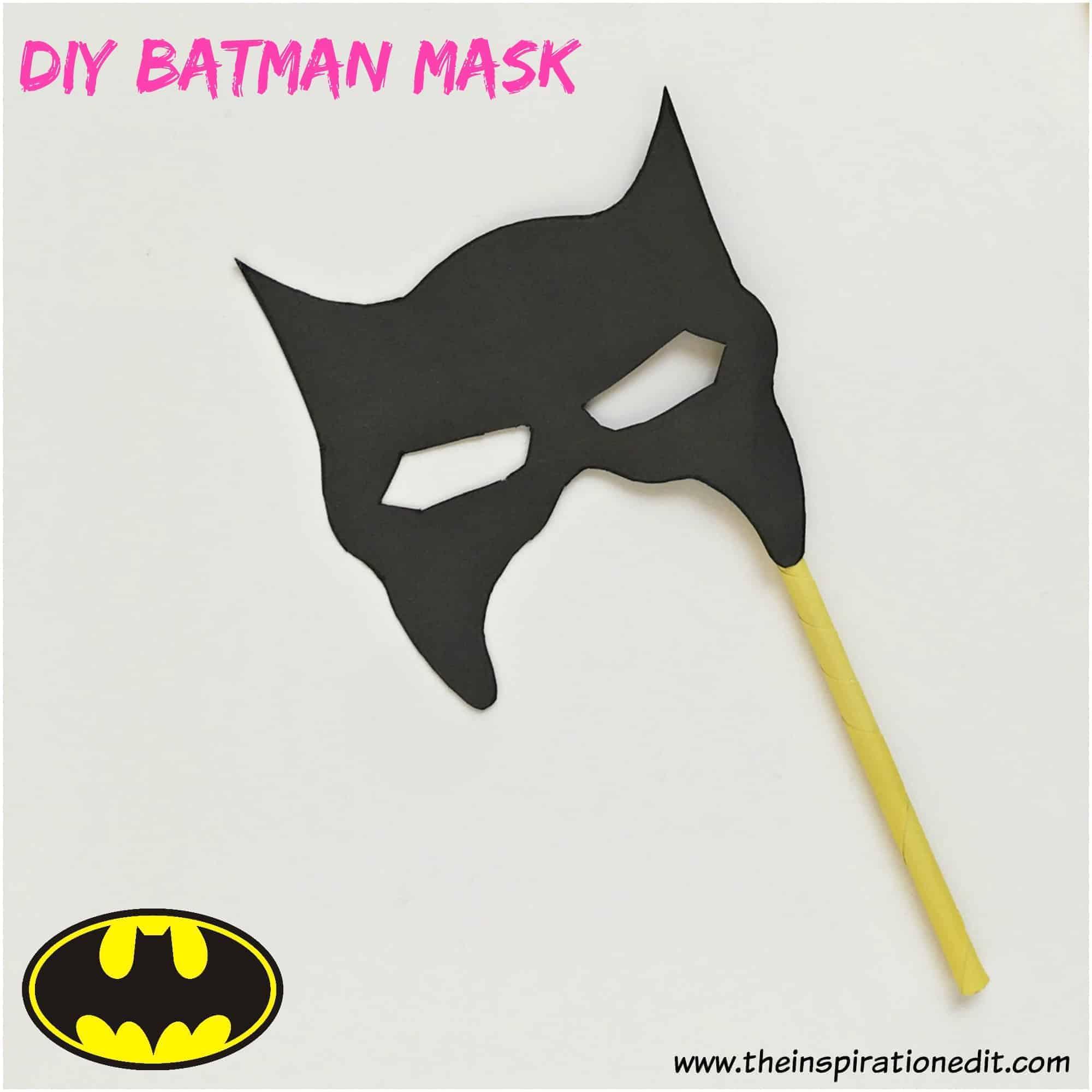 diy batman mask for kids