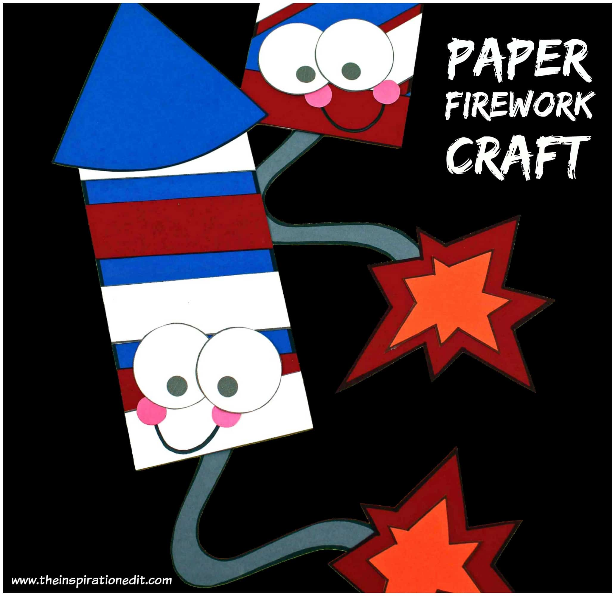 Easy Firework Craft