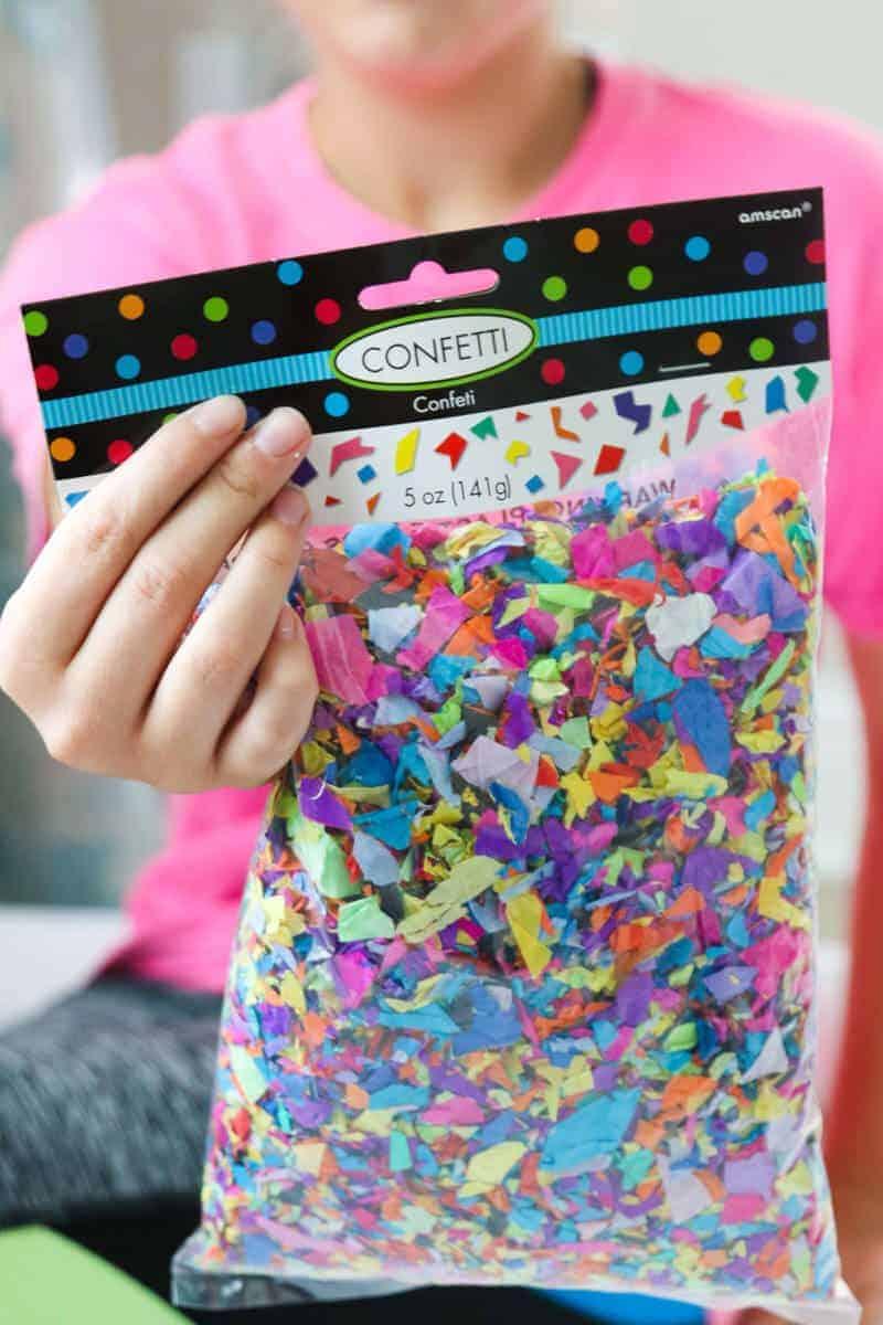 bag of confetti
