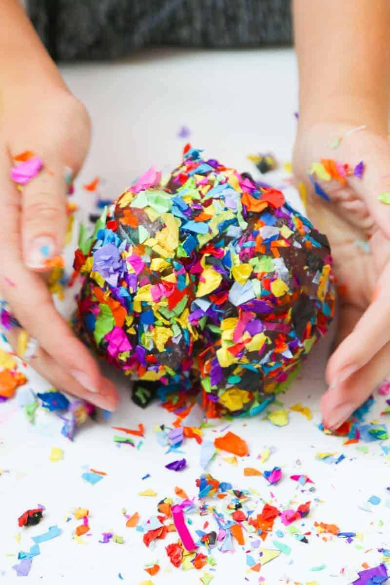 confetti slime ball