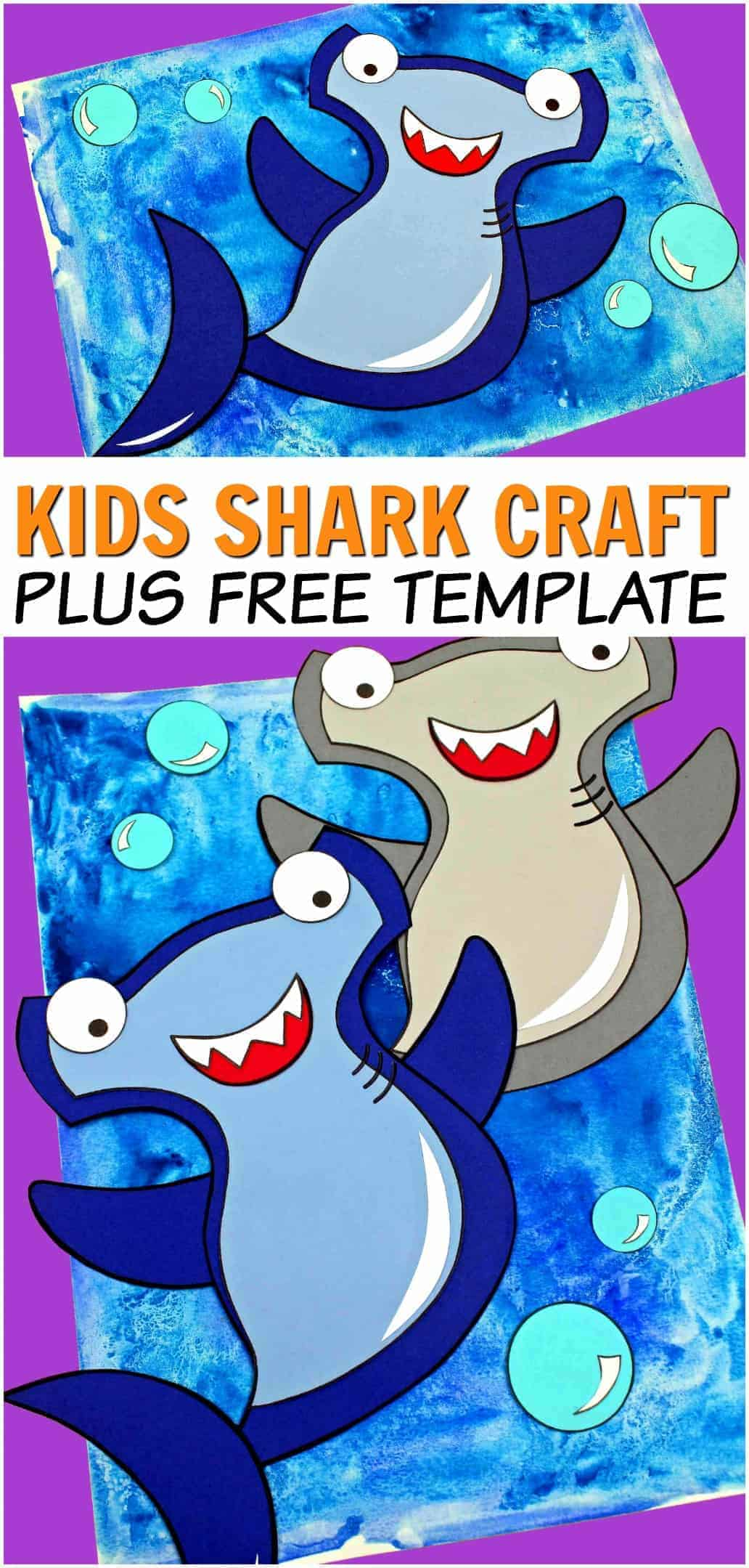 kids shark craft