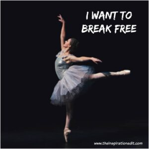 i want to break free from anxiety