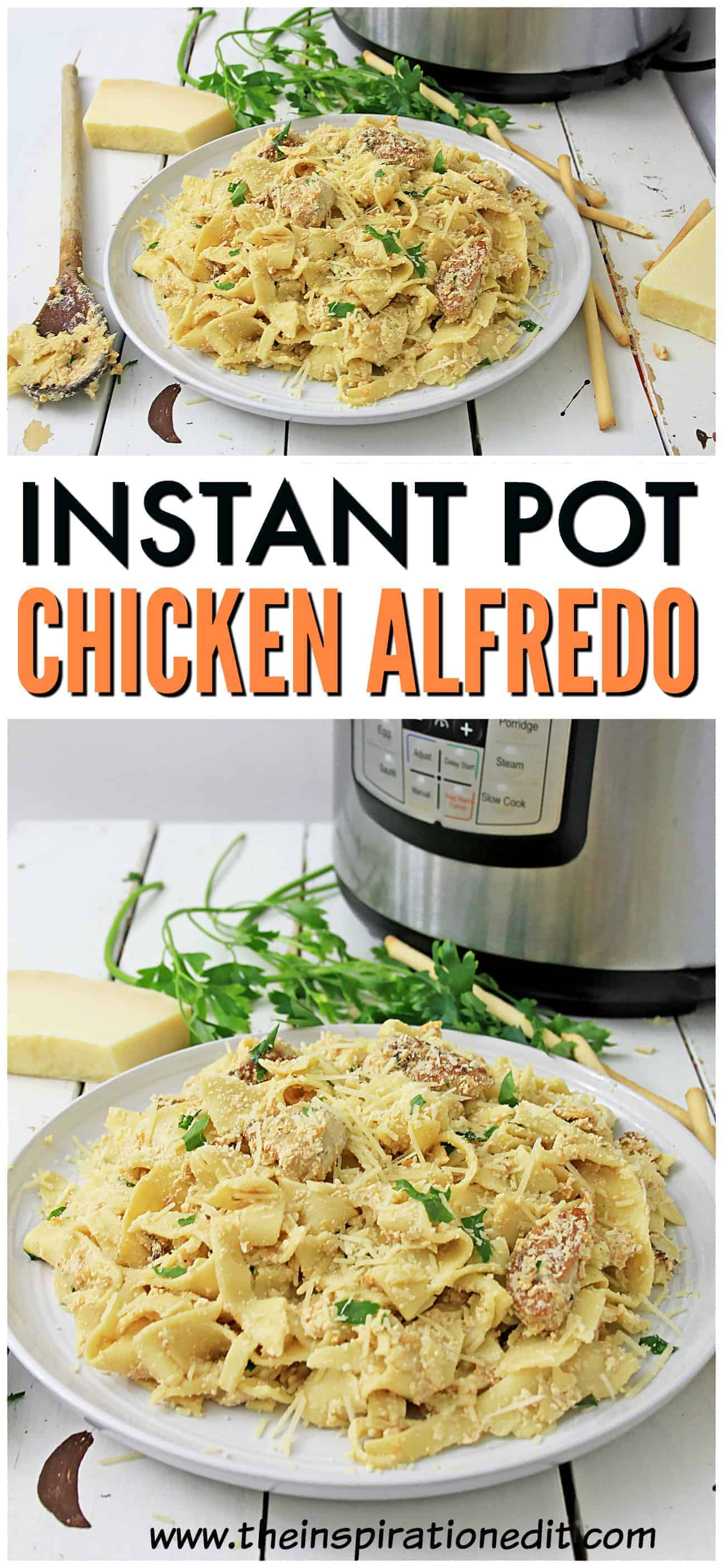 chicken alfredo instant pot