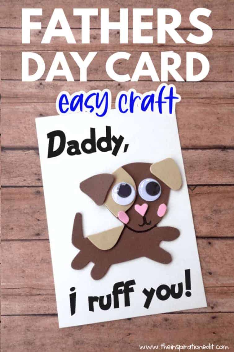 dog fathers day card