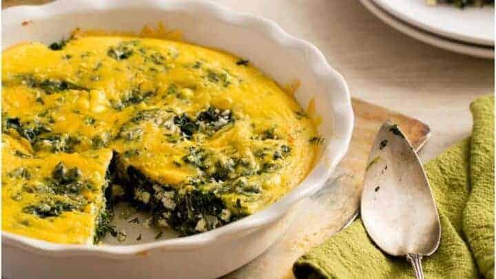 Spinach And Feta Bake Recipe