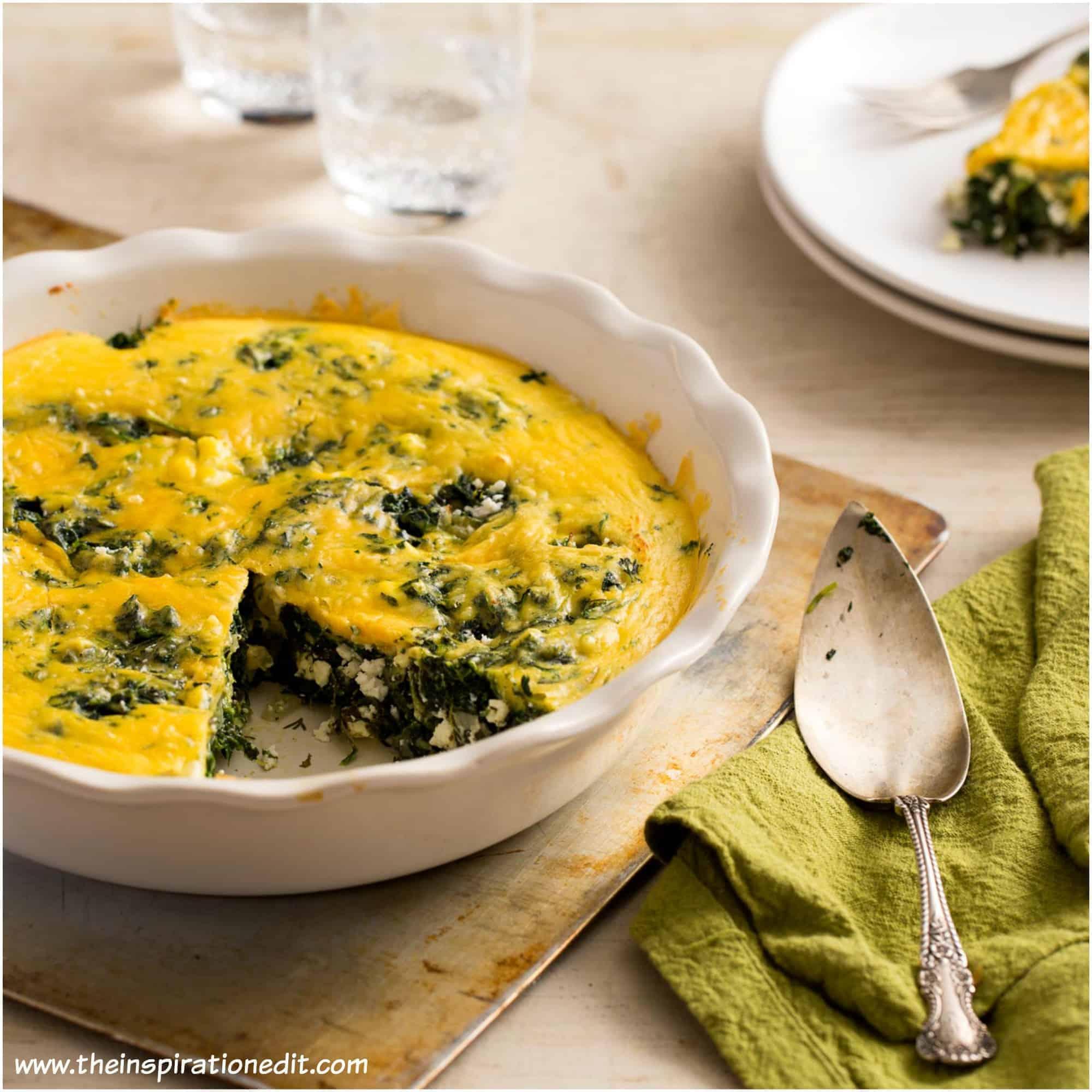 spinach feta bake