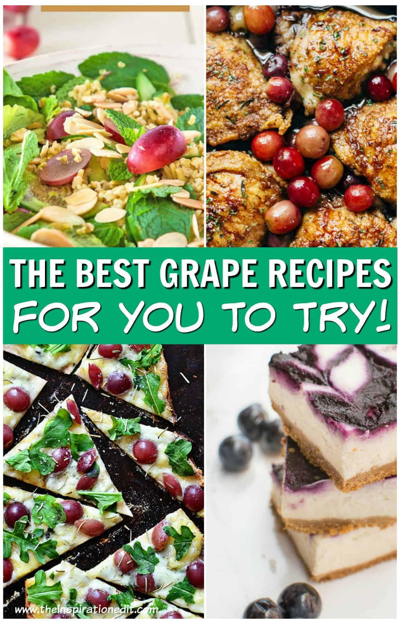 grape recipes