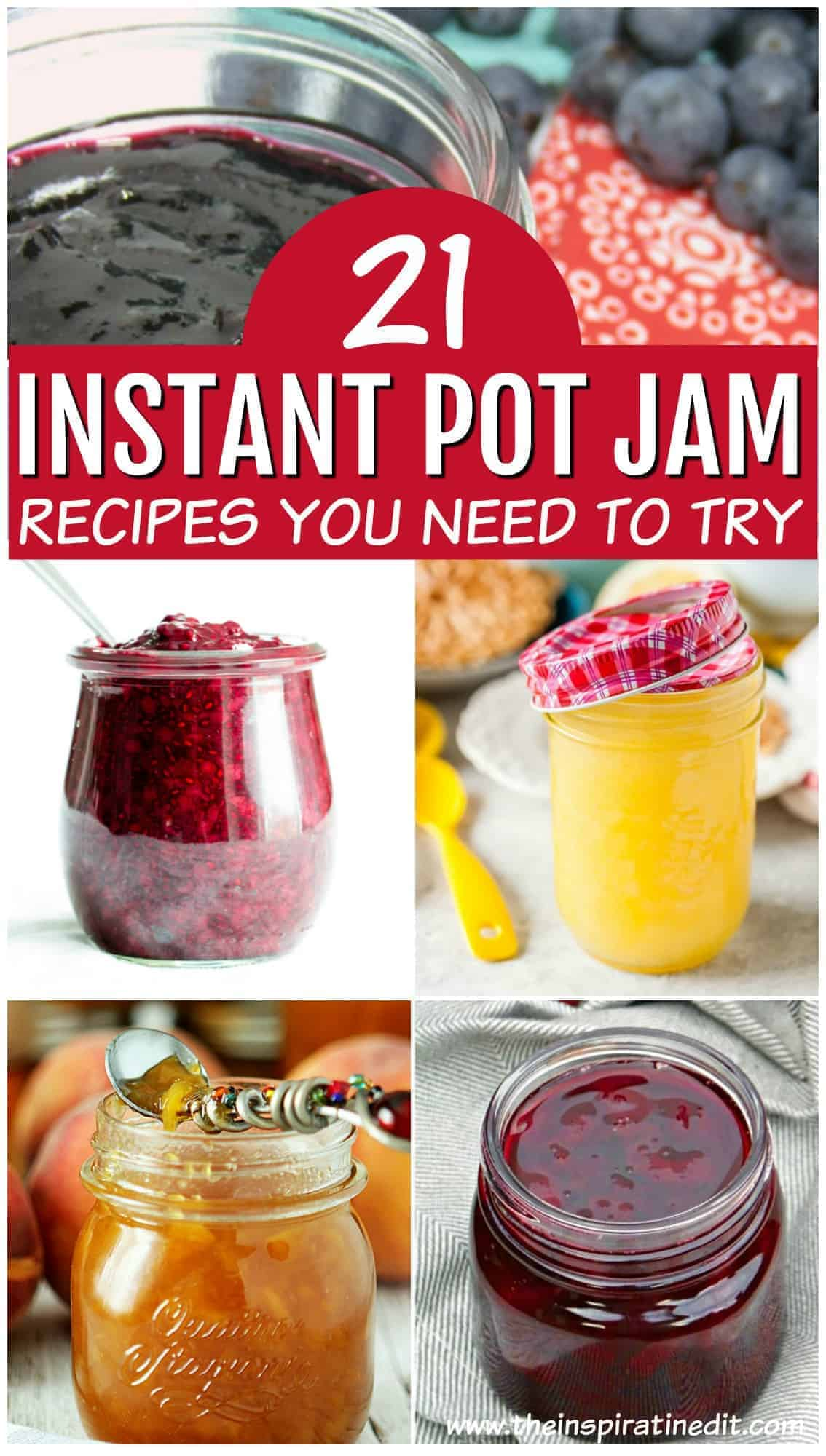 jam recipes for the instant pot and pressure cooker