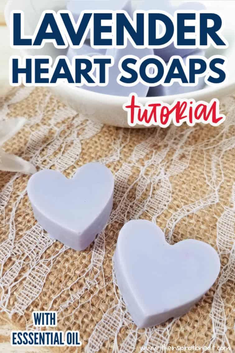 lavender heart soaps