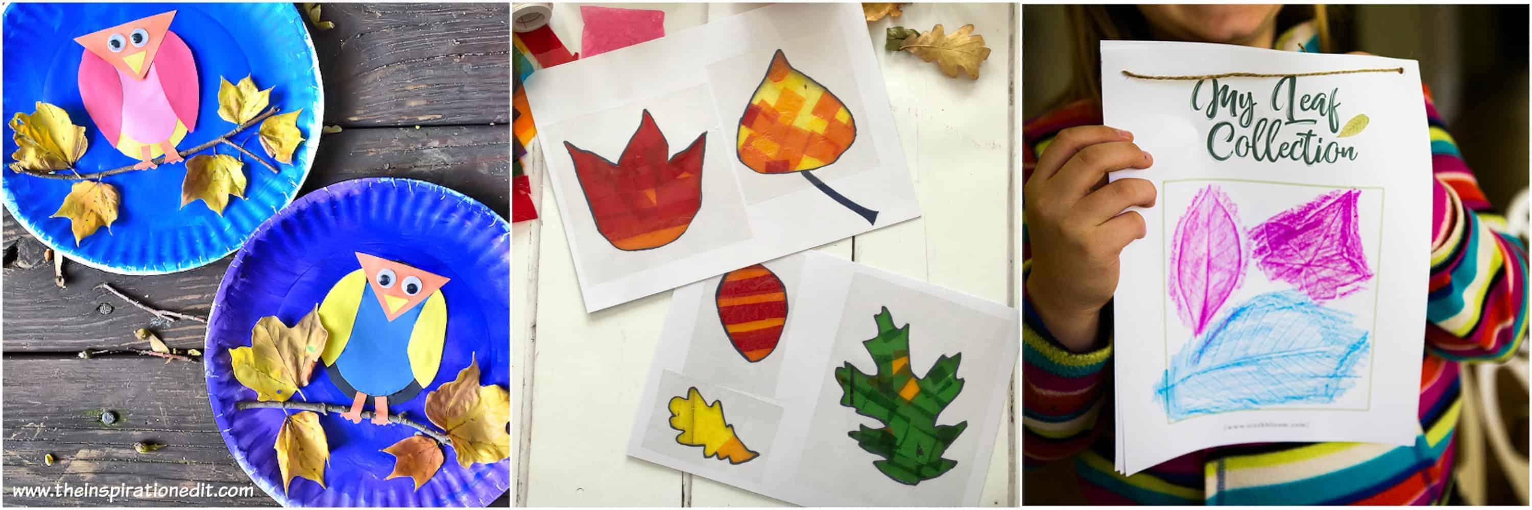 autumn crafts for preschoolers