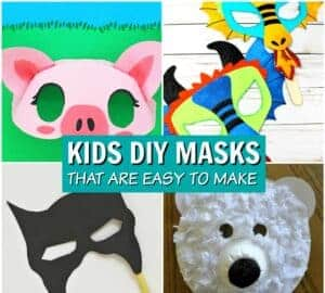 diy masks for kids to make