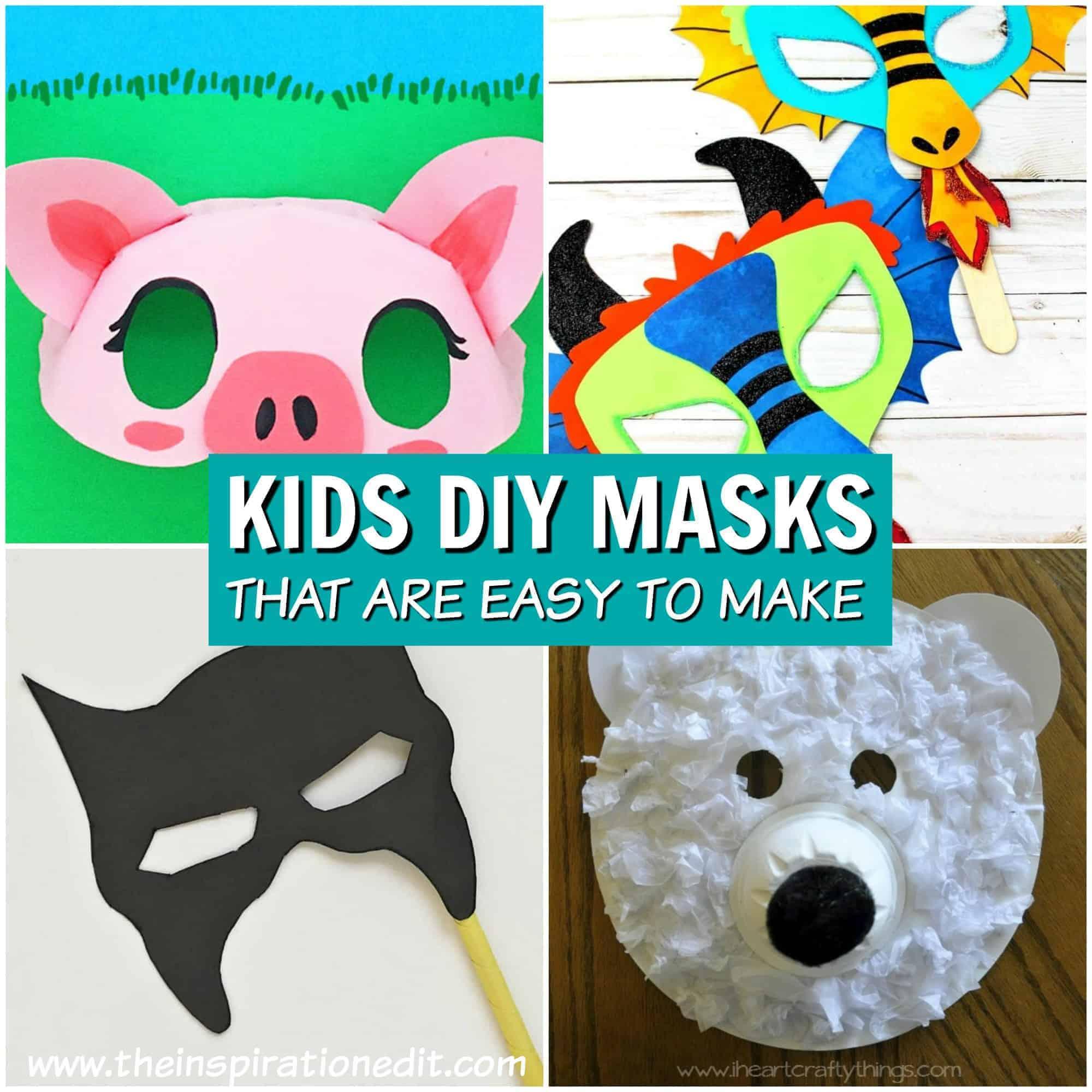 diy masks for kids to make