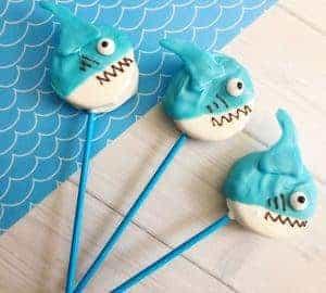 how to make shark cookies