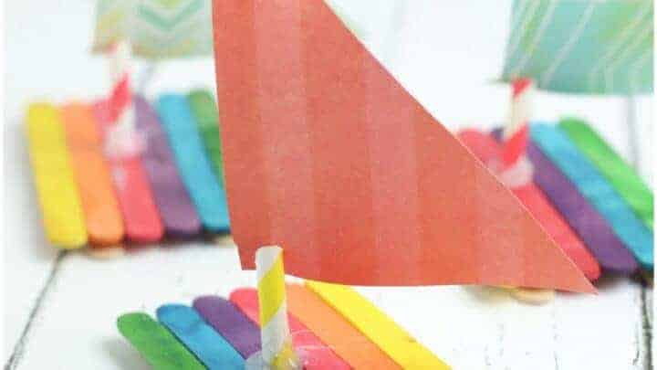 diy sail boat craft
