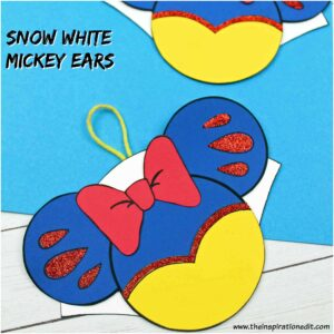 snow white mickey ears craft