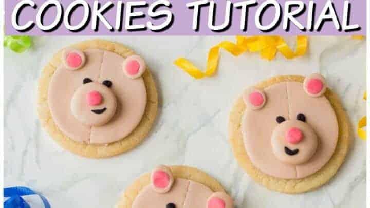 teddy bear sugar cookies recipe