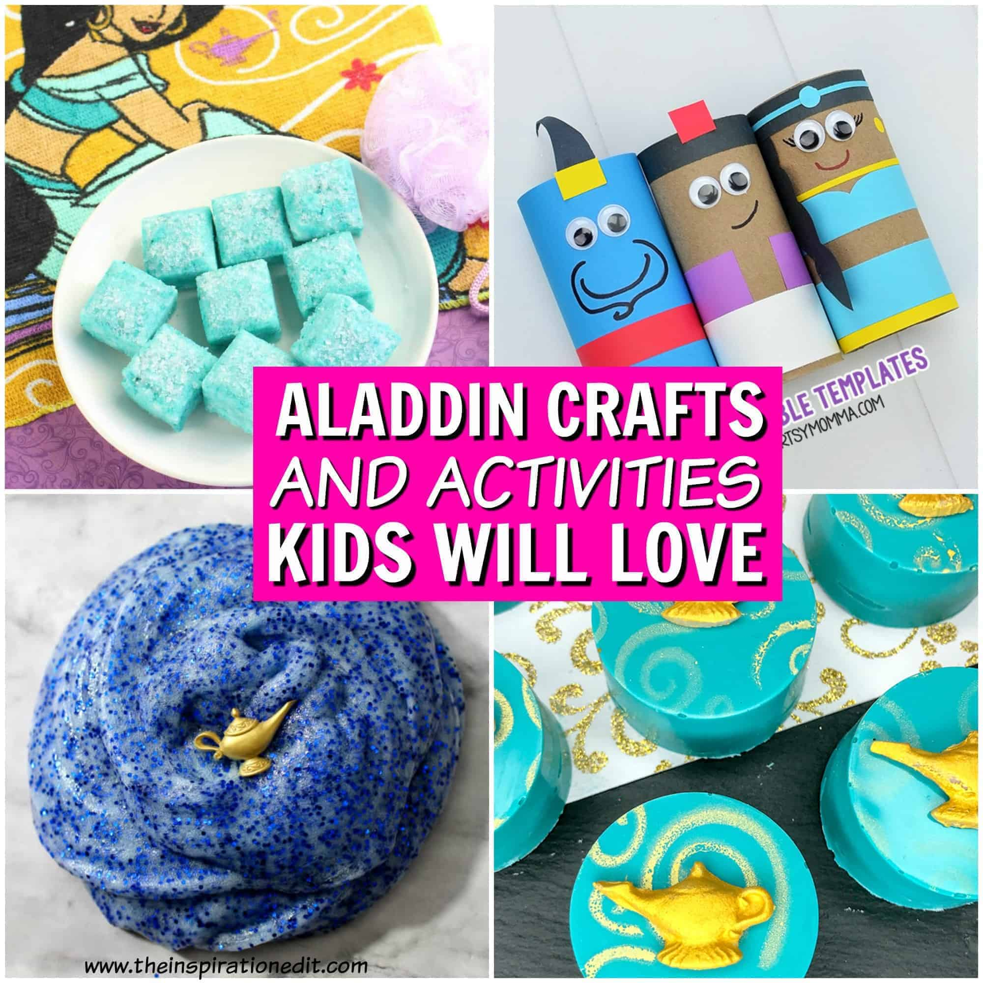 Aladdin crafts and Activities for kids