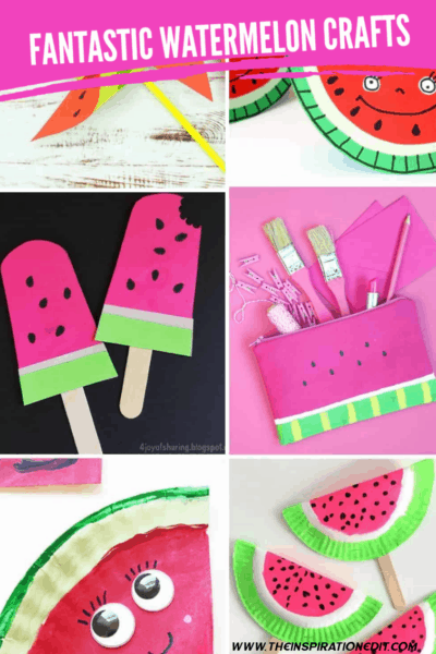 FANTASTIC WATERMELON CRAFTS