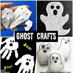 ghosts crafts for kids