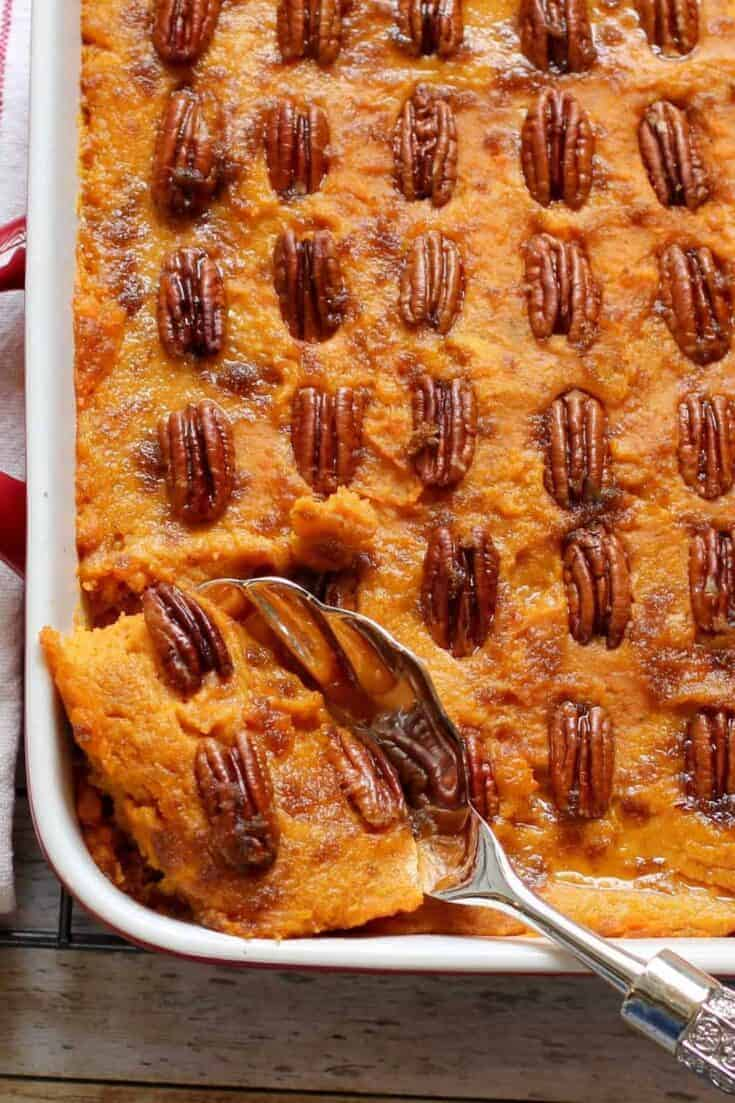 Sweet Potato Casserole - Instant Pot