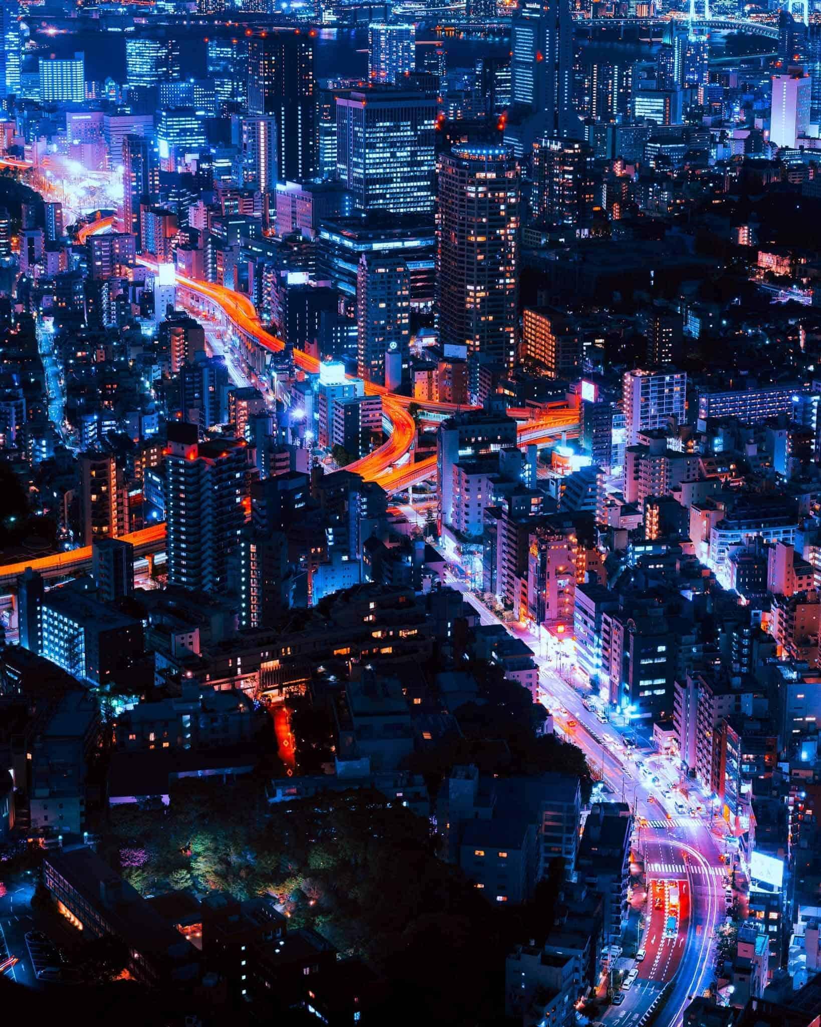 Tokyo-Night-time