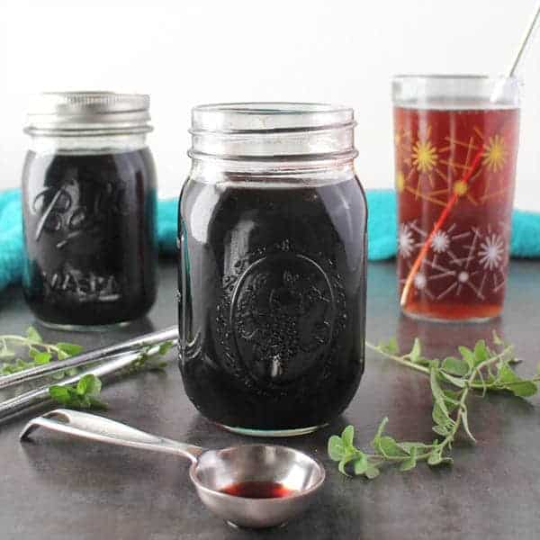 Instant Pot Elderberry Shrub