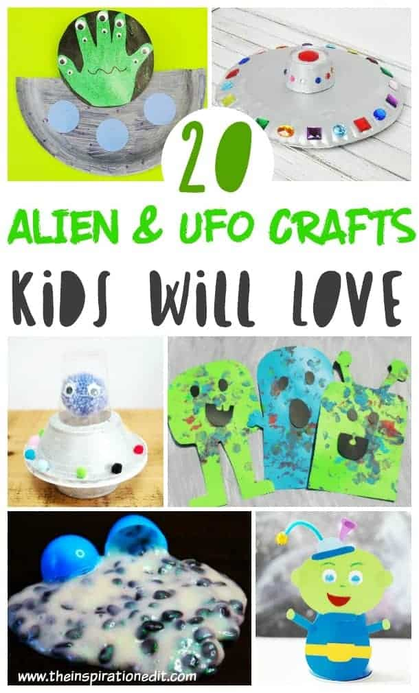 aliens crafts for kids to make