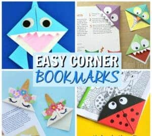 easy corner bookmarks