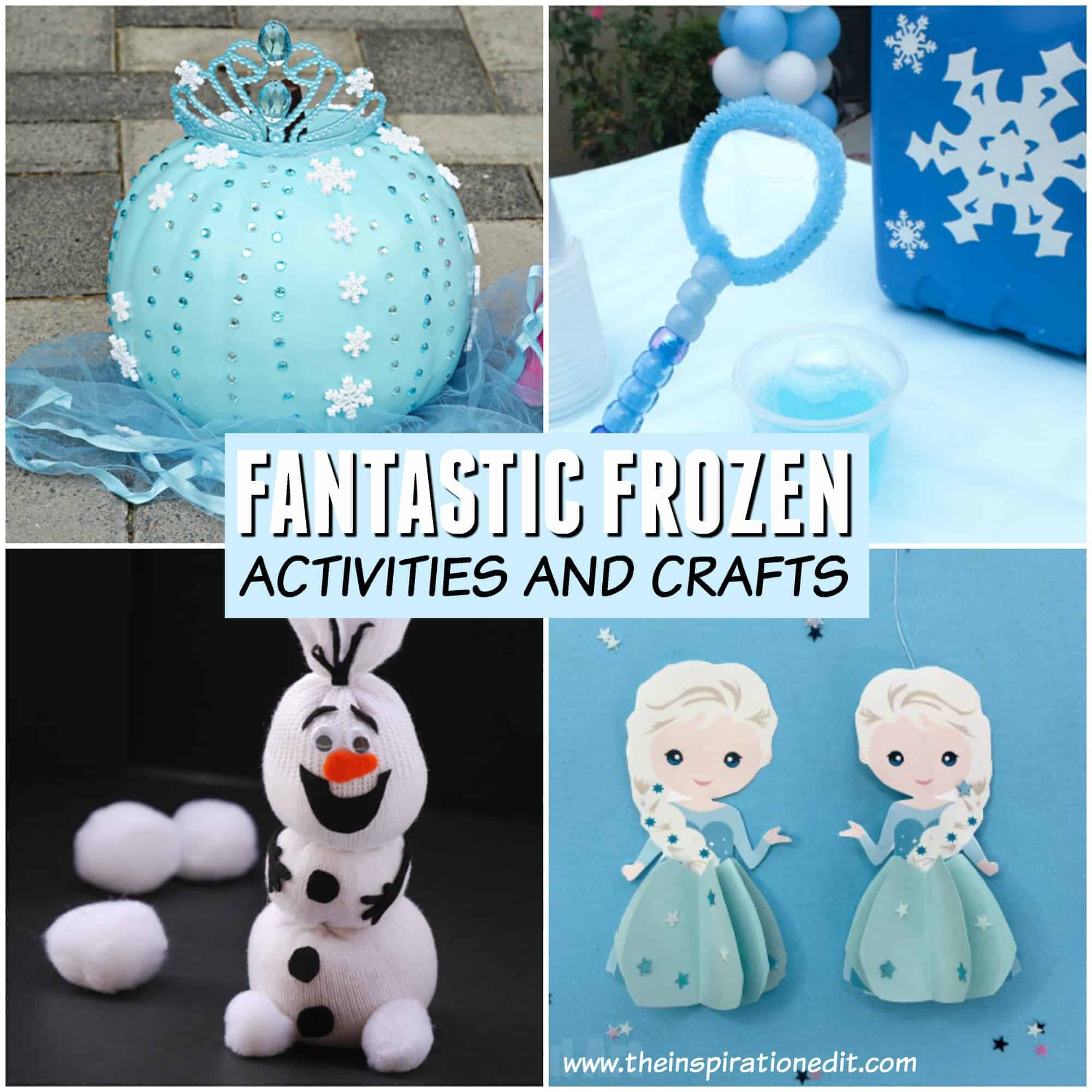 frozen craft and frozen activities for kids disney