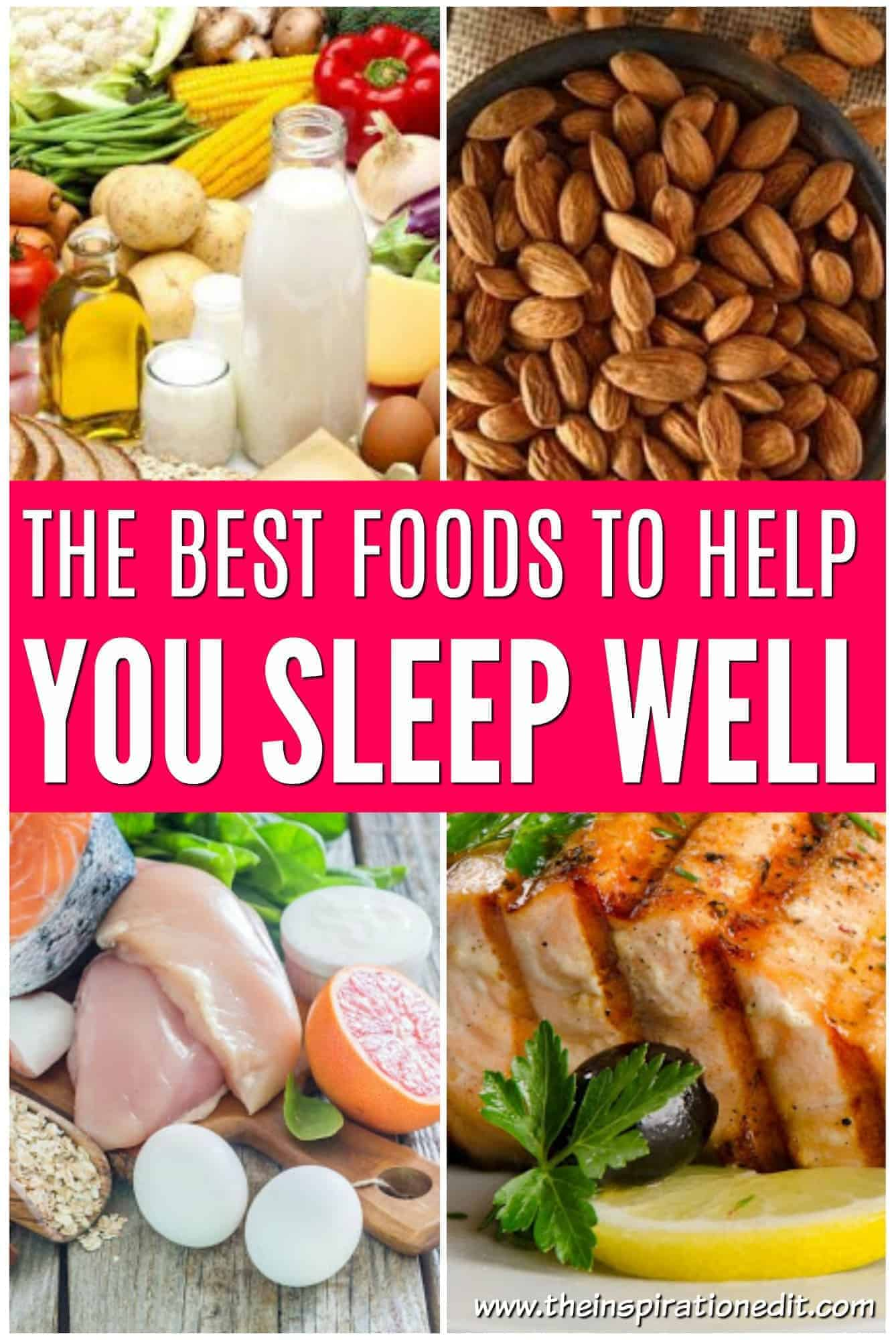 The Best Foods To Help Sleep