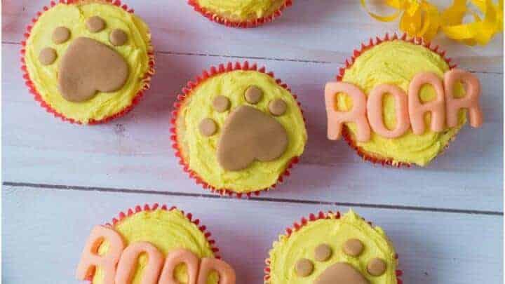 lion king cupcakes