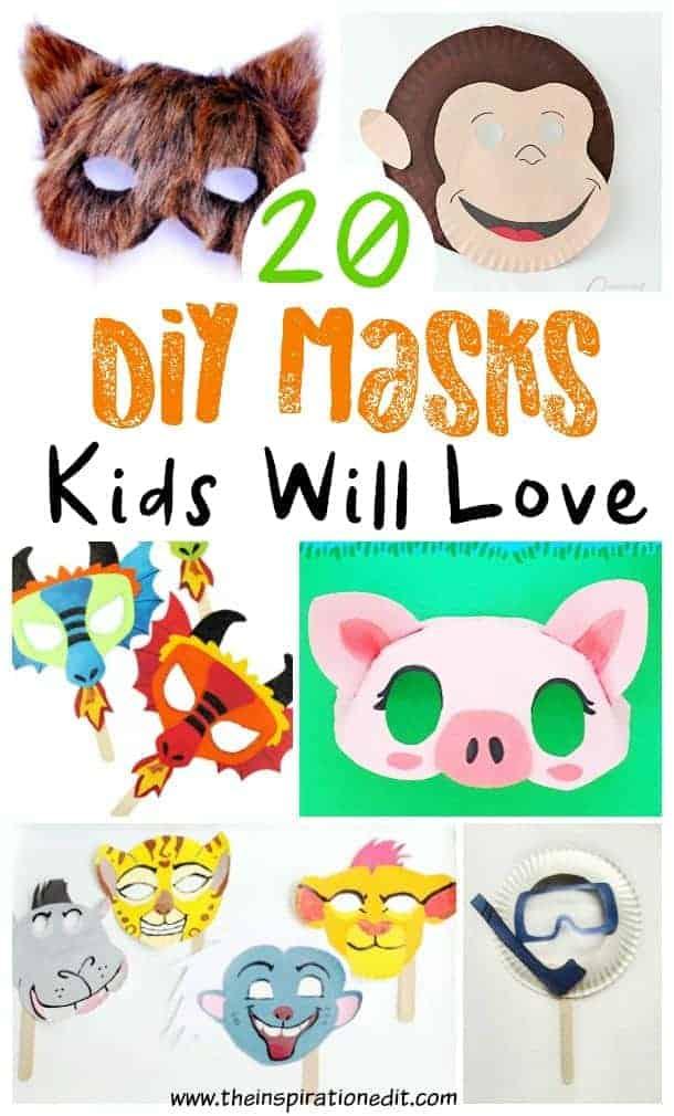 diy masks for kids