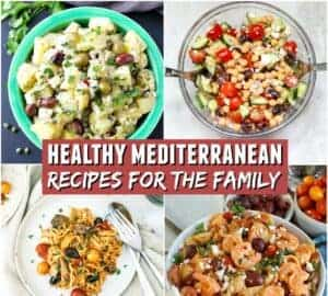 healthy mediterranean recipes for the family