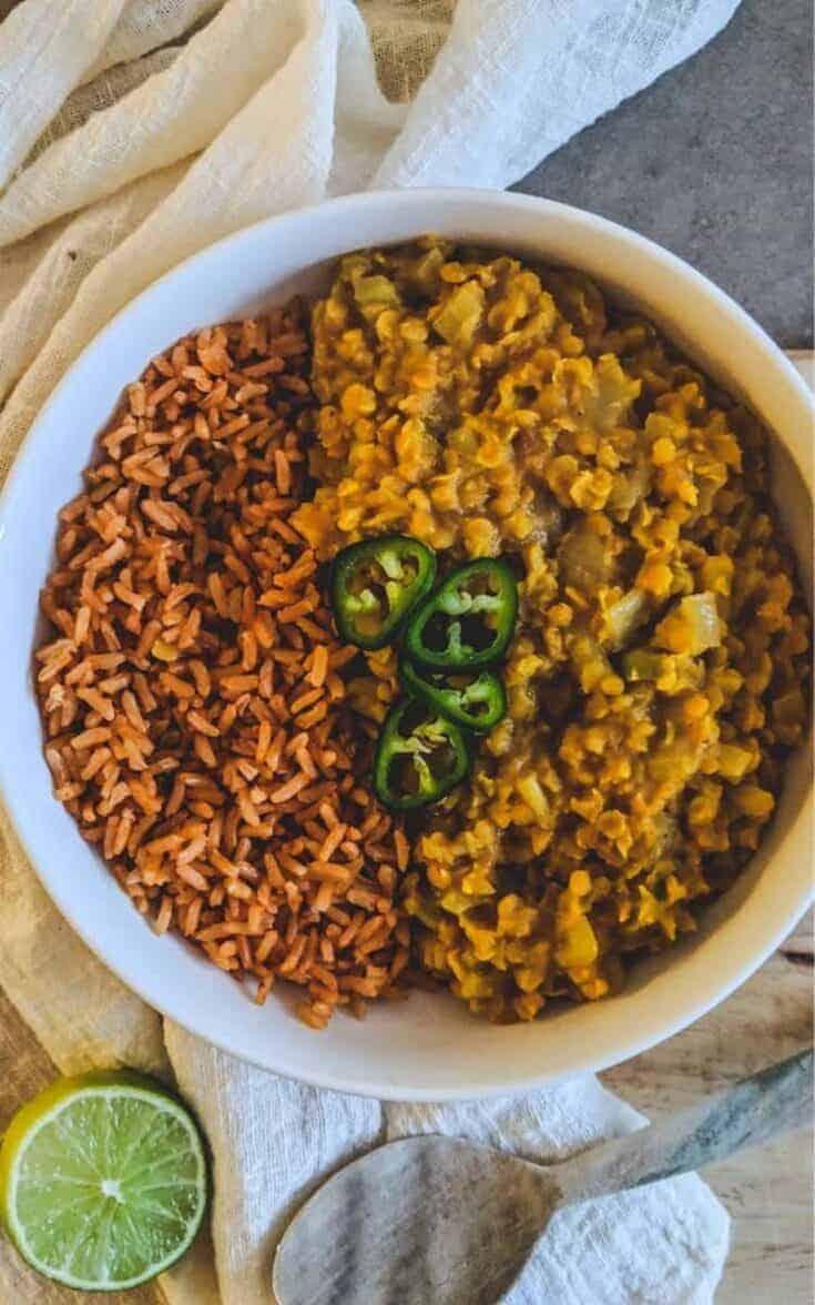 Red Lentil Dahl Recipe | Sri Lankan Dahl