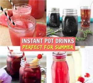 instant pot summer drinks