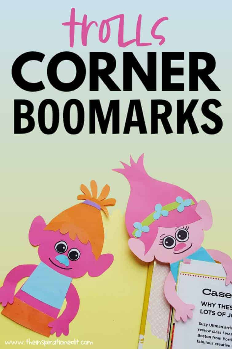 trolls corner bookmarks