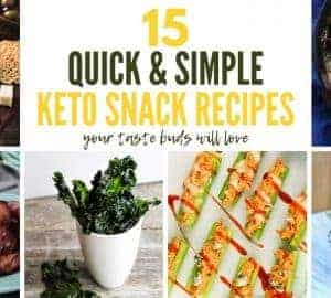 15 Quick & Simple Keto Snack Recipes(2)
